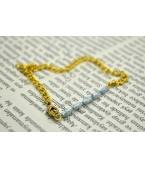 Tatlısu İncisi Zincirli Bileklik
